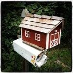 Sue's Red Mailbox